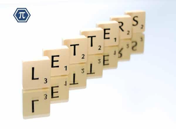 Ejemplos de sucesiones de letras